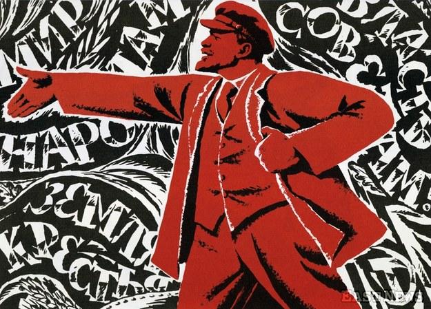Lenin na radzieckim plakacie /Image Asset Management /East News