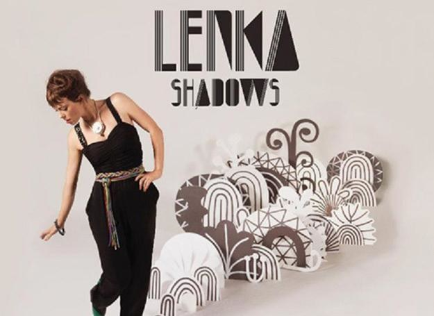 "Lenka na okładce płyty ""Shadows"" /"