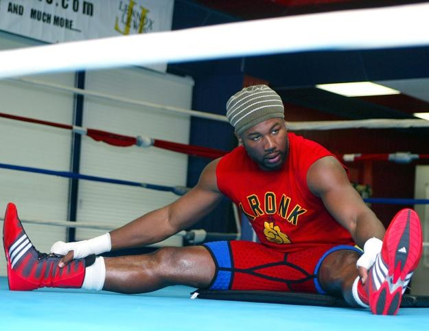 Lennox Lewis jako jedyny pokonał Gary'ego Masona/fot. Don Murray /Getty Images/Flash Press Media