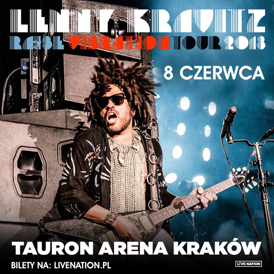 Lenny Kravitz /  /Materiały prasowe