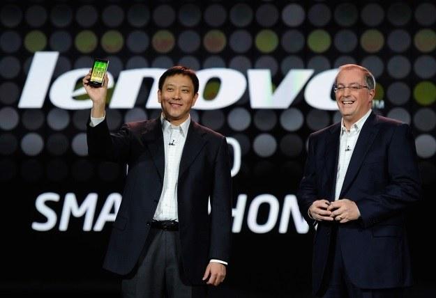Lenovo chce zawojować segment sprzętów mobilnych /AFP