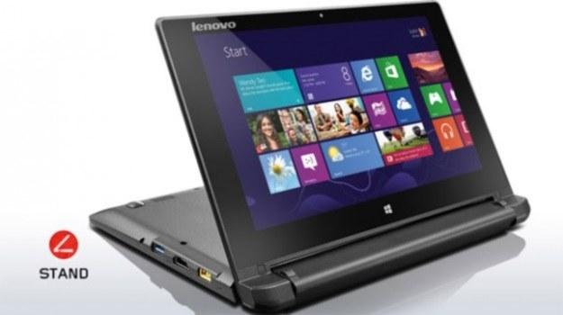 Lenovo Flex 10 z odchylonym ekranem /materiały prasowe