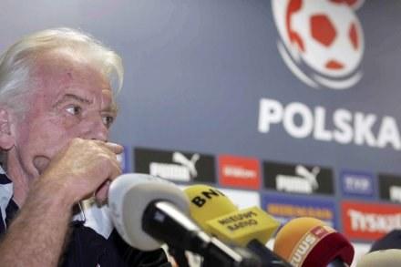 Leo Beenhakker ma o czym myśleć... /AFP