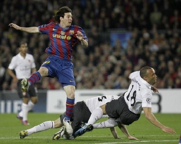 Leo Messi w życiowej formie. /AFP