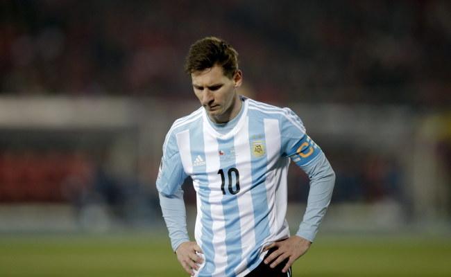 Leo Messi /PAP/EPA/FERNANDO BIZERRA JR. /PAP/EPA