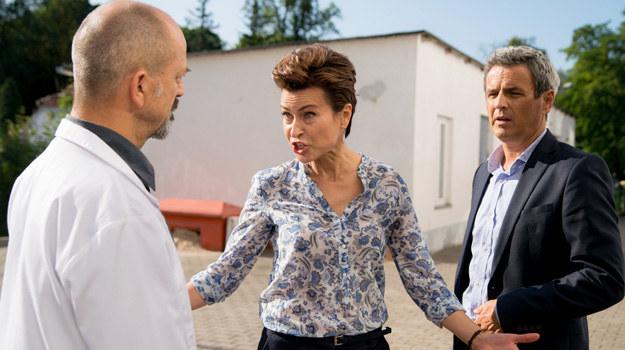 Leon i Krzysztof staną murem za Elżbietą. /x-news/Piotr Litwic /TVN