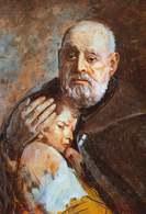 Leon Wyczółkowski, portret Adama Chmielowskiego /Encyklopedia Internautica