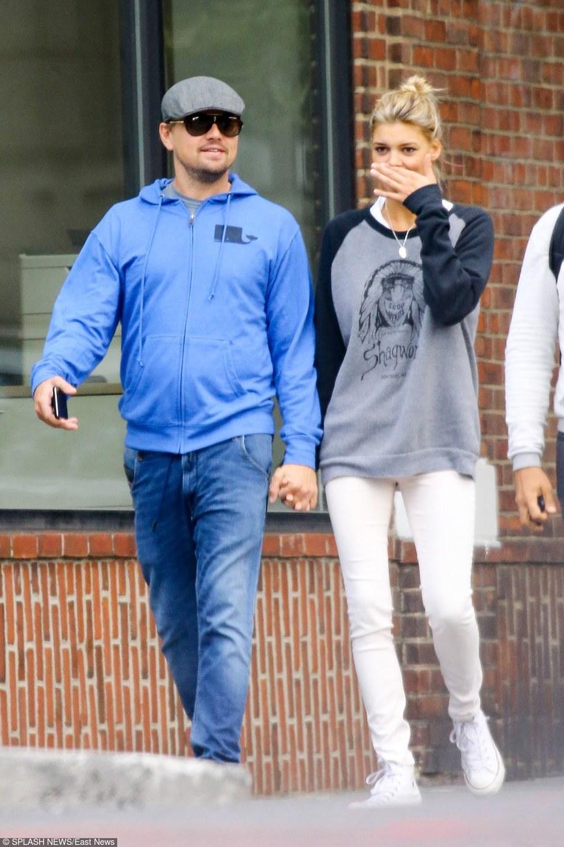 Leonardo DiCaprio i Kelly Rohrbach /Felipe Ramales / Splash News /East News