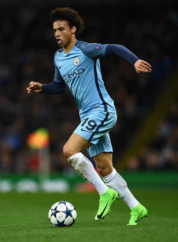 Leroy Sane /Laurence Griffiths /Getty Images