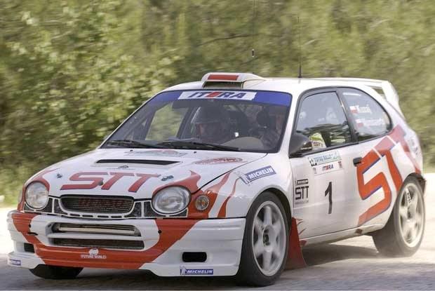 Leszek Kuzaj zapowiada, że to jego ostatni start Corollą (kliknij) /INTERIA.PL