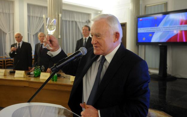 Leszek Miller: Ambasadora polskiej wódki /Witold Rozbicki /Reporter
