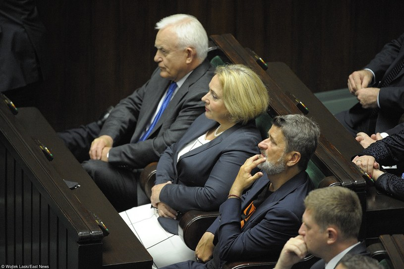 Leszek Miller, Wanda Nowicka, Janusz Palikot, Andrzej Rozenek /Wojtek Laski /East News