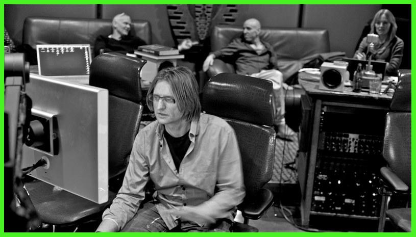 Leszek Możdżer, Lars Danielsson i Zohar Fresco podczas nagrywania trzeciej płyty /materiały prasowe