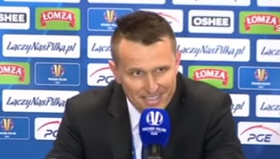 Leszek Ojrzyński, trener Arki /