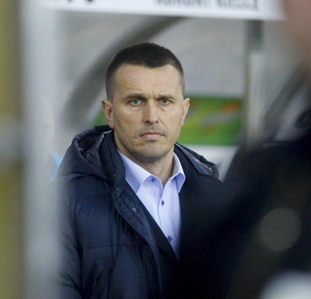 Leszek Ojrzyński - trener Podbeskidzia Bielsko- Biała /Michał Walczak /PAP