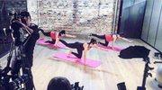 Lewandowska pokazuje ćwiczenia dla kobiet w ciąży