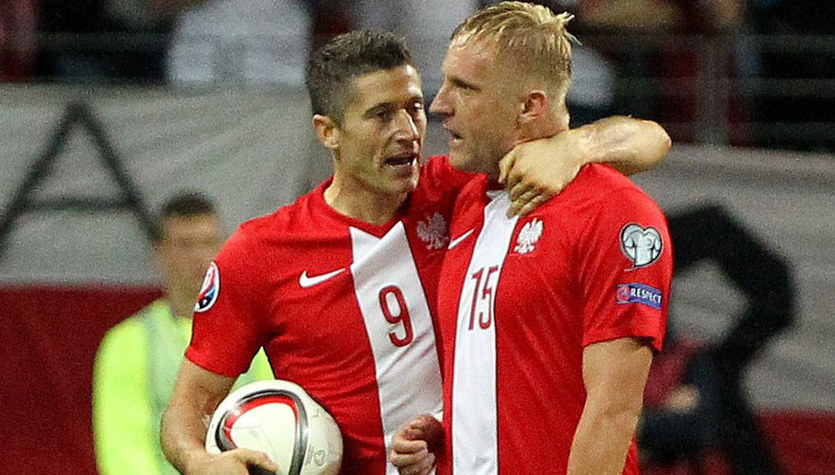 Lewandowski i Glik nominowani do drużyny roku UEFA