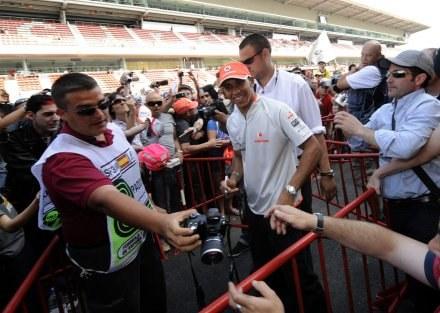 Lewis znajdzie się w ekskluzywnym towarzystwie /AFP