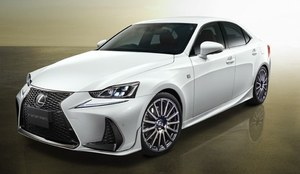Lexus IS F Sport z pakietem Tuning TRD