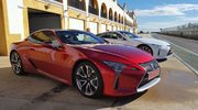 Lexus LC - postrach rywali