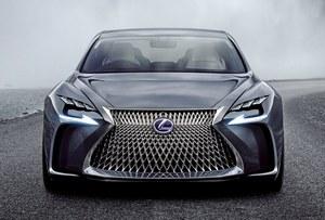 Lexus LF-FC - nowe szczegóły
