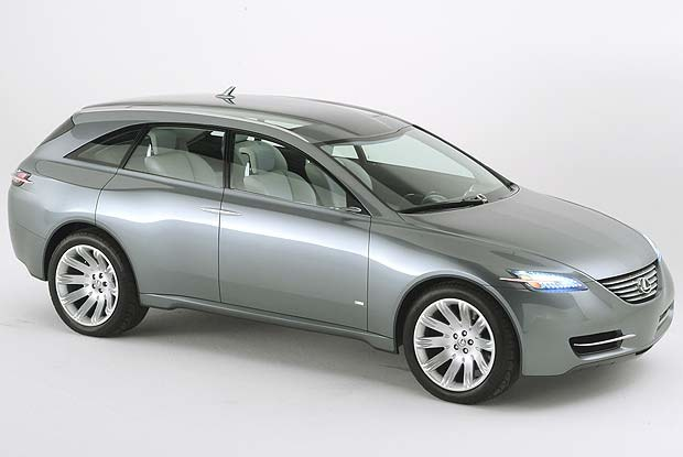 Lexus LF-X (kliknij) /INTERIA.PL