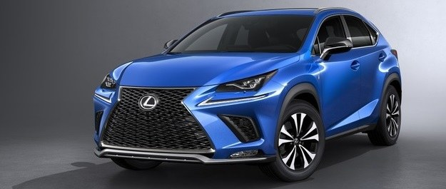 Lexus NX po face liftingu