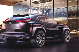 Lexus UX Concept. Premiera już niebawem