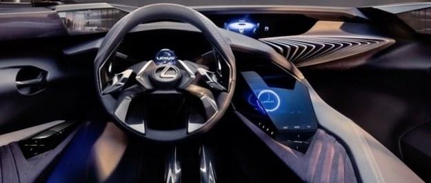 Lexus UX - tak wygląda jego wnętrze