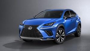 Lexus zaprezentował NXa po face liftingu