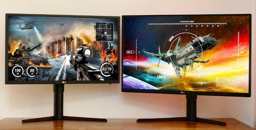 LG 27GK750 i 32GK850 /materiały prasowe