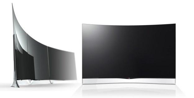 LG Curved OLED TV /materiały prasowe