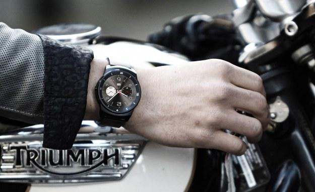LG G Watch R /materiały prasowe