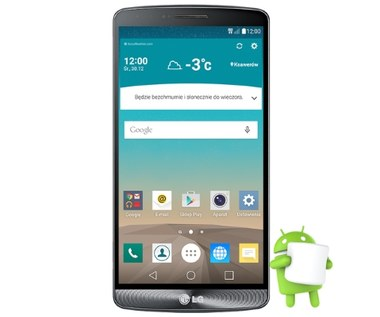 LG G3 z Androidem 6.0 Marshmallow