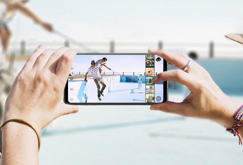 LG G8 z wyświetlaczem 4K /materiały prasowe