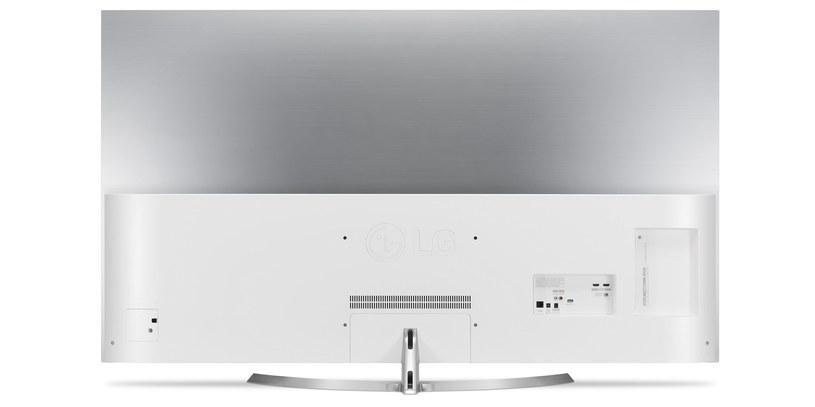 LG OLED 55B7 - tył telewizora /materiały prasowe