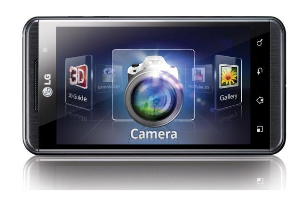 LG Optimus (Swift) 3D - pierwszy na świecie tak bardzo zaawansowany telefon 3D /materiały prasowe