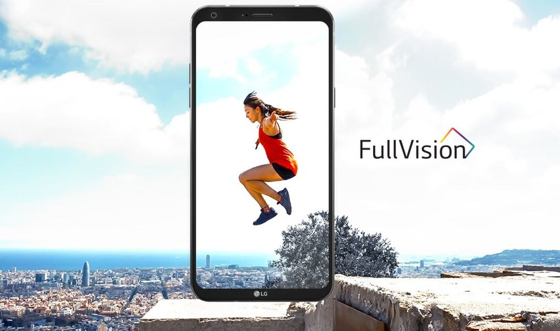 LG Q6 posiada ekran FullVision, tak jak flagowy model G6 /materiały prasowe