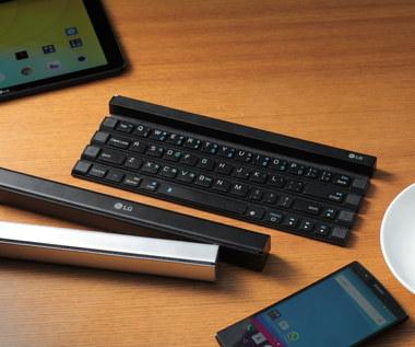 LG Rolly Keyboard - klawiatura do urządzeń mobilnych, którą można zwinąć
