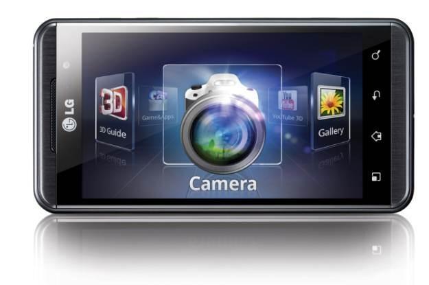 LG Swift 3D - pierwszy na polskim rynku telefon 3D /materiały prasowe