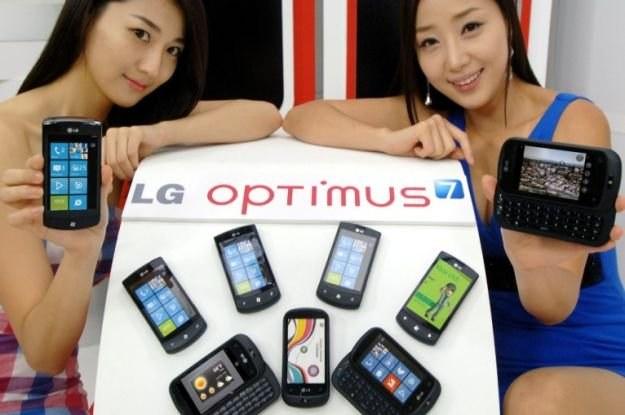 LG Swift 7 - pierwszy telefon LG z Windows Phone 7 /materiały prasowe