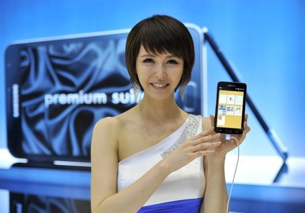 LG twierdzi, że Samsung naruszył jego patenty przy produkcji m.in. Galaxy Note /AFP