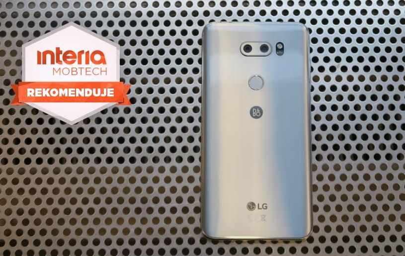 LG V30 otrzymuje REKOMENDACJĘ serwisu Mobtech Interia /INTERIA.PL