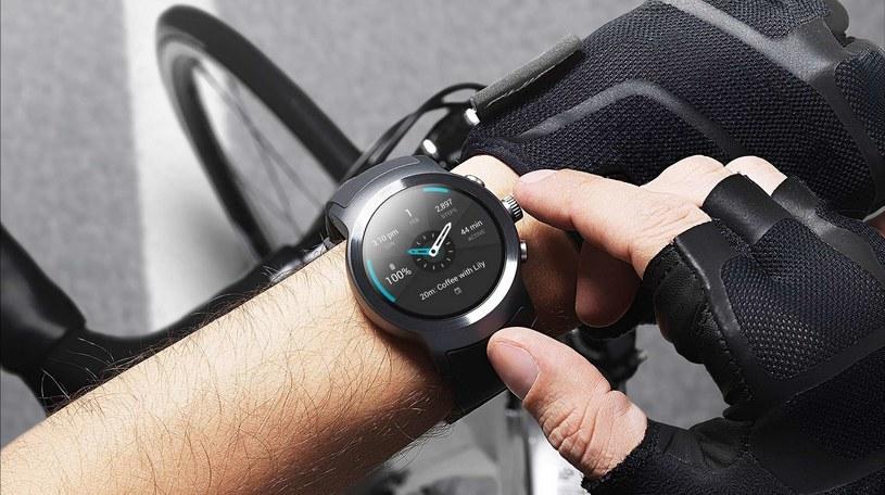 LG Watch Sport /materiały prasowe