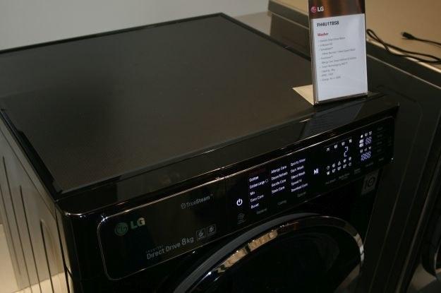 LG zademonstrowało także serię ekologicznych pralek /INTERIA.PL
