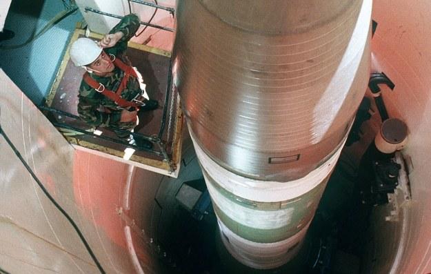 LGM-30G Minuteman III – amerykański międzykontynentalny pocisk balistyczny /AFP