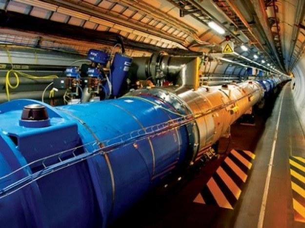 LHC zderzał cząsteczki z rekordową mocą 13 teraelektronowoltów. /AFP