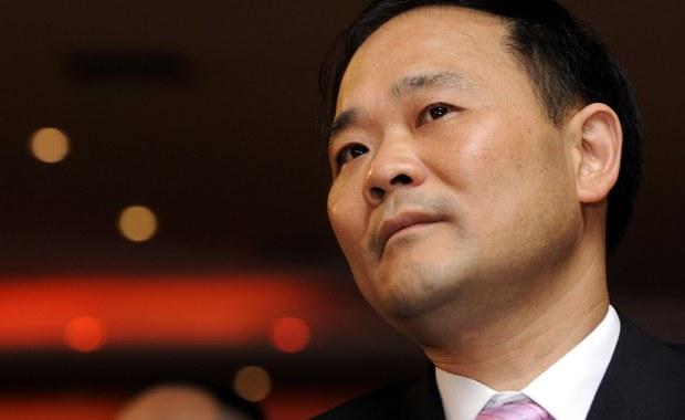 Li Shufu z wizytą w Niemczech. Stał się największym udziałowcem Daimlera