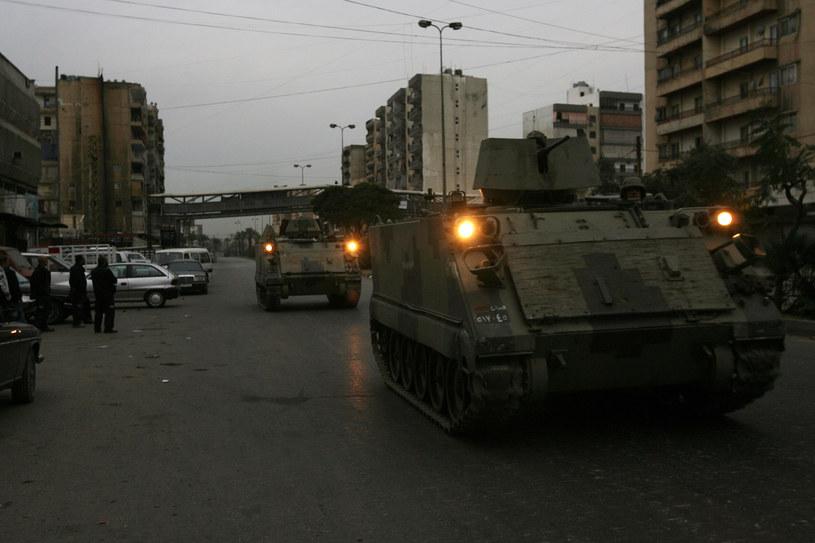 Libańska armia na ulicach Trypolisu /GHASSAN SWEIDAN /AFP