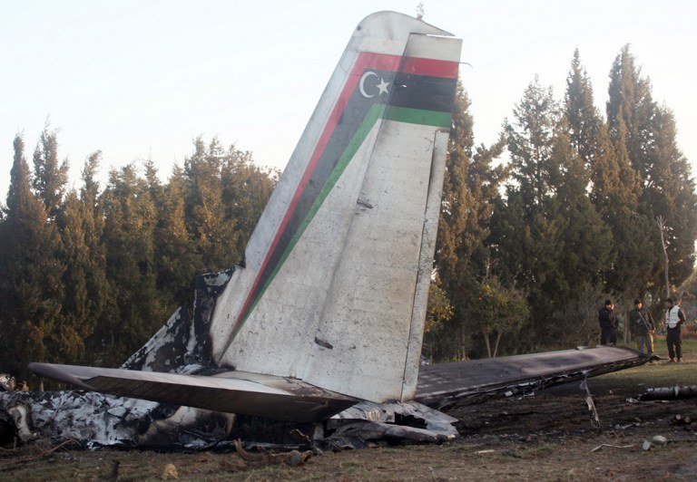 Libijski samolot sanitarno-wojskowy rozbił się w regionie Grombalia /AFP